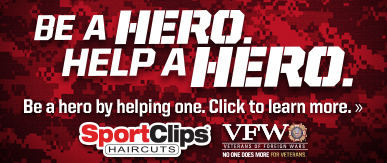 Sport Clips Tustin Heights ​ Help a Hero Campaign